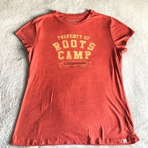Roots Tee shirt Size L